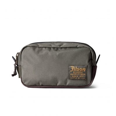 Filson Ballistic Nylon Travel pack Otter Green