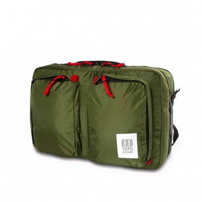 Topo Designs Global Briefcase 3-day Olive