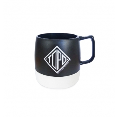 Topo Designs Mug Black/White