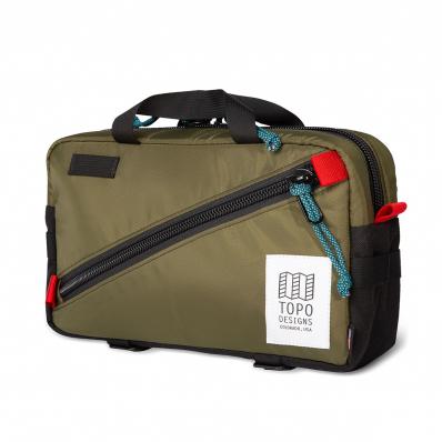 Topo Designs Quick Pack Olive/Black