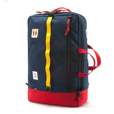 Topo Design Travel Bag Navy/Red