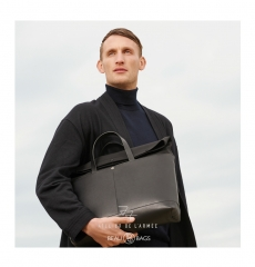 Atelier de l'Armée Worker Briefcase Black back