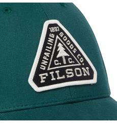 Filson Logger Cap 20189202-Mallard Green front