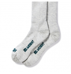 Filson Mediumweight Traditional Crew Socks Gray Heather