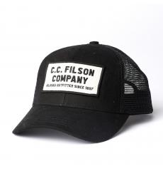 Filson Mesh Snap-Back Logger Cap 20172157 Black