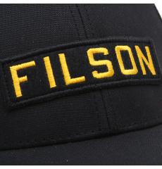 Filson Mesh Snap-Back Logger Cap 20189203 Black