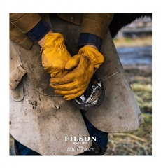 Filson Original Goatskin Gloves Tan