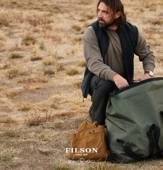Filson Ridgeway Fleece Vest Dark Navy
