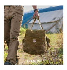 Filson Tin Cloth Medium Duffle Bag 11070015 Tan