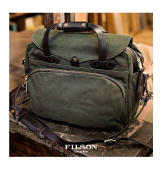 Filson Padded Computer Bag 11070258 Otter Green