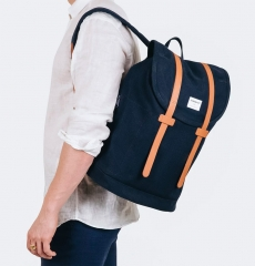 Sandqvist backpack Stig Large Blue front