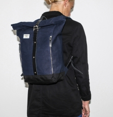 Sandqvist Backpack Rolf Waxed Blue
