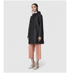Stutterheim Mosebacke Raincoat Black