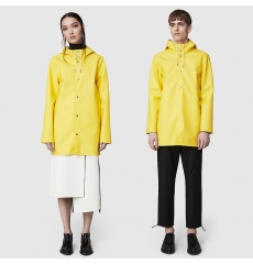 Stutterheim Raincoat Stockholm Pale Yellow