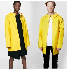 Stutterheim Stockholm Raincoat Yellow