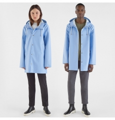 Stutterheim Raincoat Stockholm Light Blue