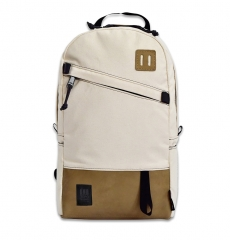 Topo Designs Daypack Natural/Khaki Leather