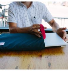 Topo Designs Laptop Sleeve Navy front