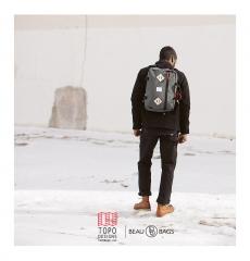 Topo Designs Mountain Briefcase Charcoal