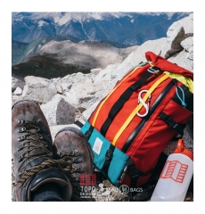 Topo Mountain Pack Red