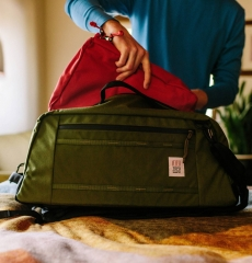 Topo Designs Pack Bag Red
