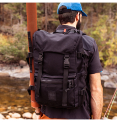 Topo Designs Rover Pack Tech Black