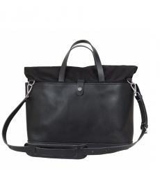 Atelier de l'Armée Worker Briefcase Leather Black