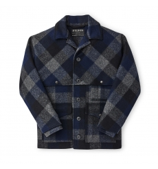 Filson Double Mackinaw Cruiser Charcoal/Black/Navy