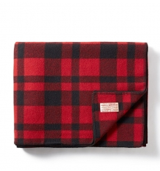 Filson MacKinaw Blanket 11080110 Red/Black