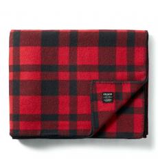 Filson MacKinaw Blanket 11080110 Red/Black