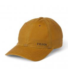 Filson Oil Tin Low-Profile Cap 20172158 Tan left