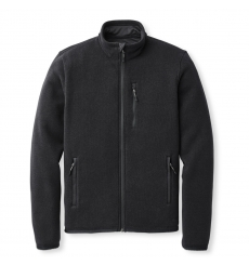 Filson Ridgeway Fleece Jacket Black bigger