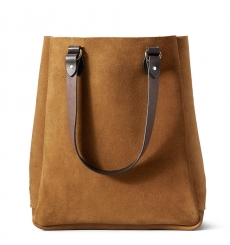 Filson Rugged Suede Tote 11070434-Saddle Brown