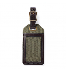 Filson Rugged Twill Luggage Tag 20152979 Otter Green