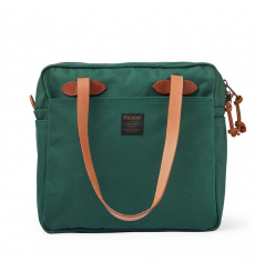 Filson Tote Bag With Zipper Hemlock