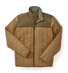 Filson Ultra Light Jacket Dark Tan front