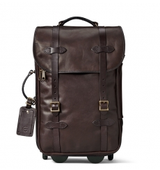 Filson Weatherproof Rolling Carry-On Bag-Medium Leather 11070439