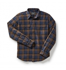 Filson Scout Shirt 20049628-Brown/Navy/Black