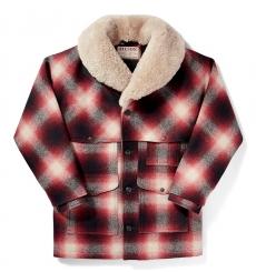 Filson Wool Packer Coat Red/Cream