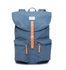 Sandqvist Roald Backpack Dusty Blue