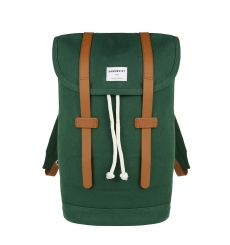 Sandqvist backpack Stig - Forest Green