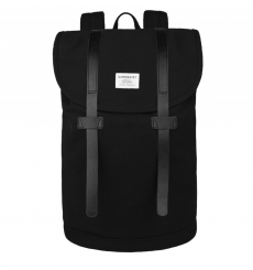 Sandqvist backpack Stig Large - Black