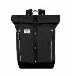 Sandqvist Backpack Rolf Waxed Black
