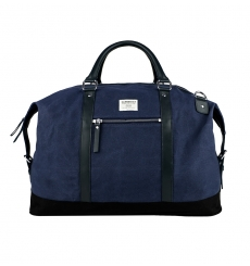 Sandqvist Jordan Blue weekend bag duffle