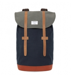 Sandqvist Stig backpack Multi Blue/Grey