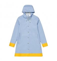 Stutterheim Mosebacke Blue Fog Raincoat