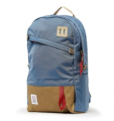 Topo Designs Daypack Storm/Khaki Leather