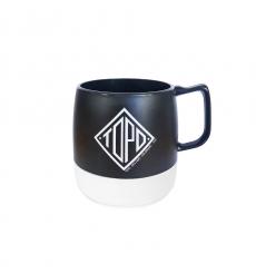 Topo Designs Mug Black/White