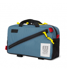Topo Designs Quick Pack Blue/White Ripstop