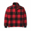 Filson Mackinaw Wool Field Jacket Red Black front